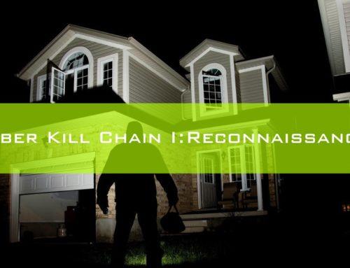 Cyber Kill Chain 1: Reconnaissance