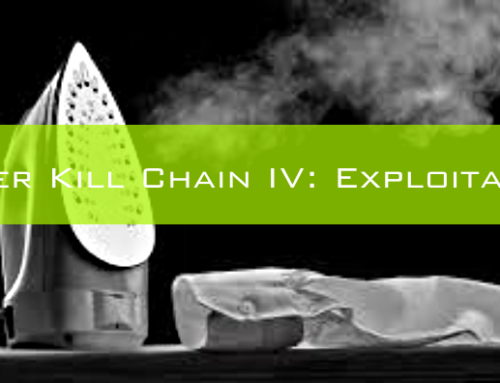 Cyber Kill Chain IV: Exploitation